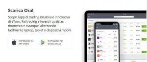 applicazione mobile etoro