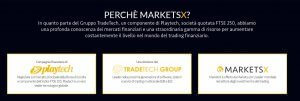 MarketsX azienda quotata