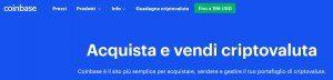 Piattaforma Coinbase