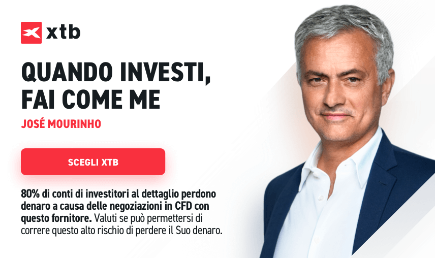 José Mourinho ed XTB