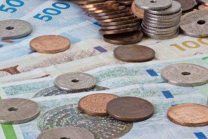 cambio corona danese euro