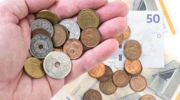 cambio euro corona danese