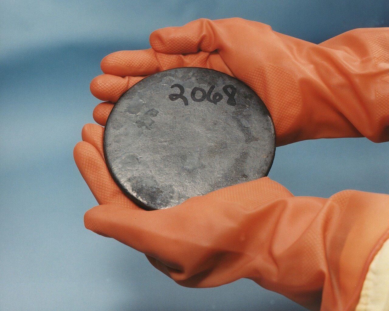 Uranio Metallo Radioattivo
