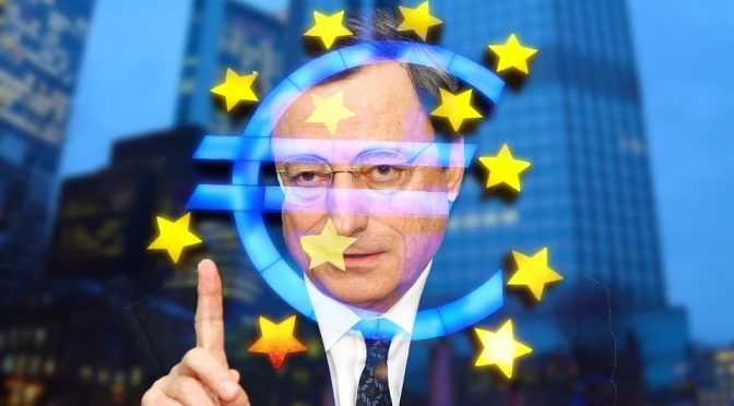 Spread BTP-Bund a 100 punti tondi tondi su effetto Draghi