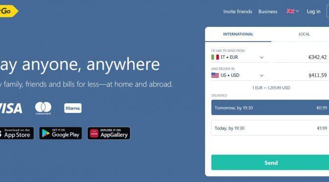home TransferGo