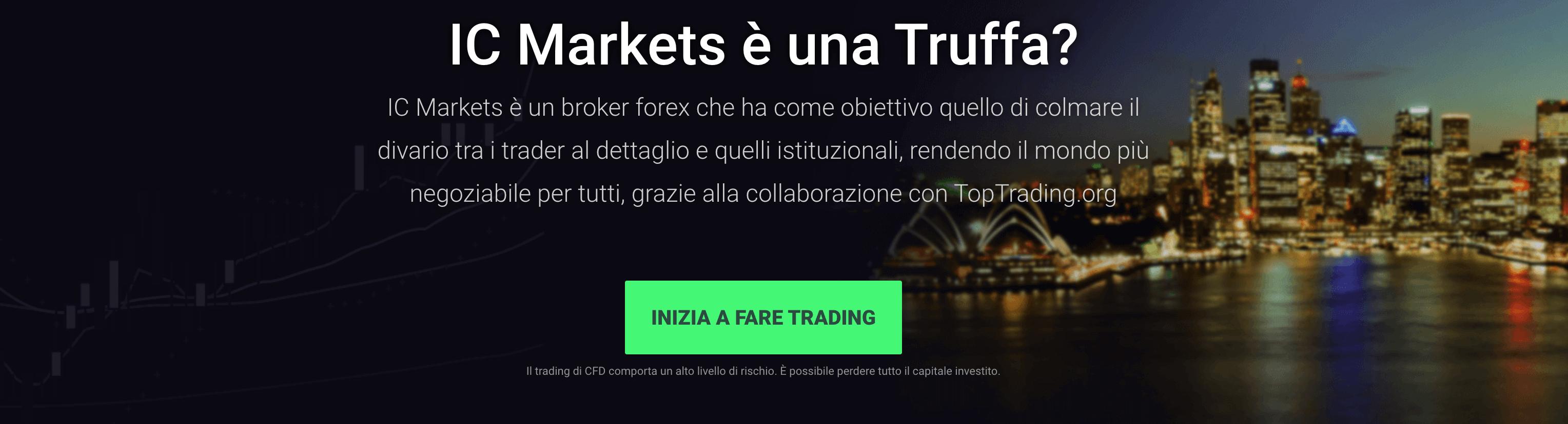 IC Markets è una Truffa?