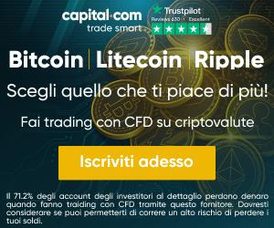 Scegli una Criptovaluta su Capital.com