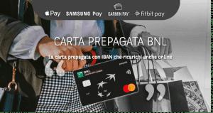 carta prepagata BNL
