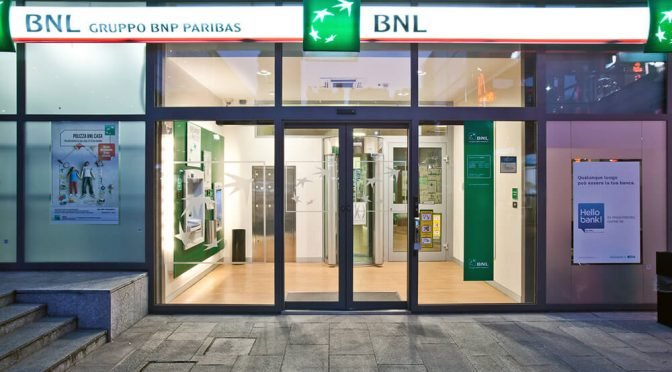 filiale banca BNL